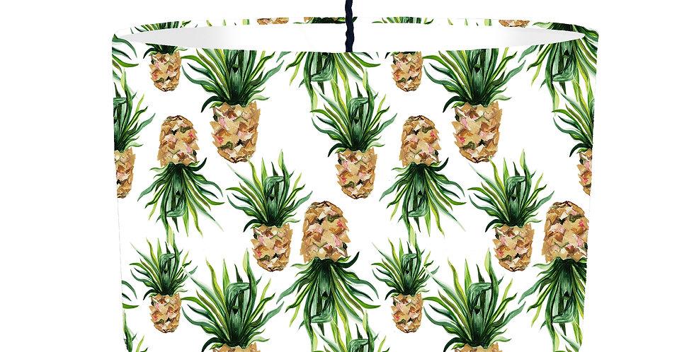 Pineapple Lampshade - White Lining
