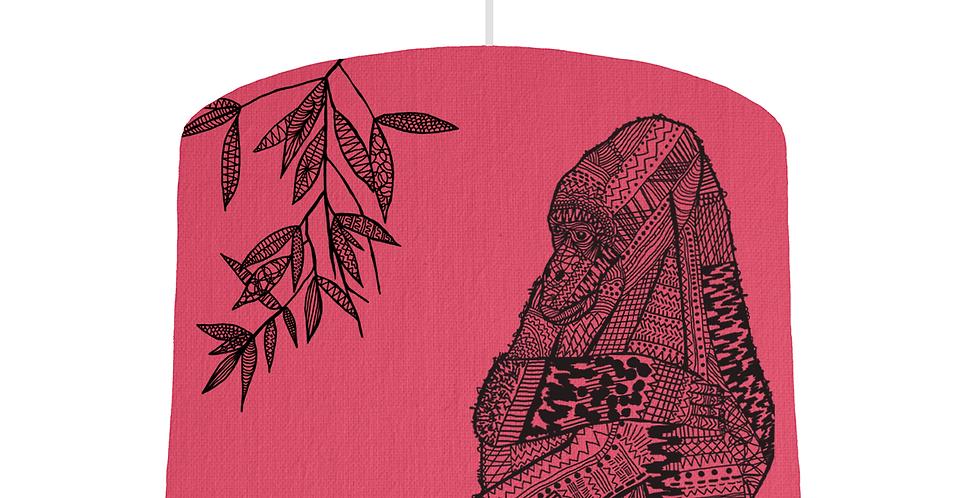 Gorilla Shade - Cerise Fabric