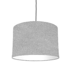 Grey woven fabric