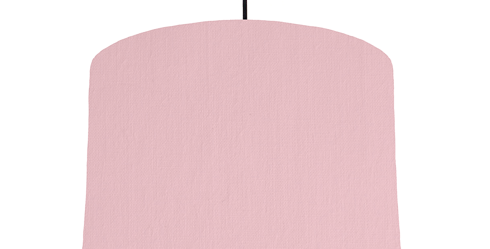 Pink & White Lampshade - 30cm Wide