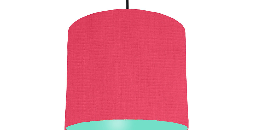 Cerise & Mint Lampshade - 25cm Wide
