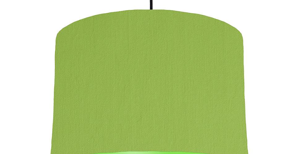 Pistachio & Lime Green Lampshade - 30cm Wide