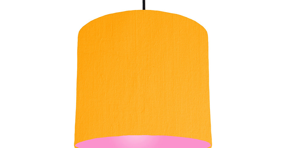 Sunshine & Pink Lampshade - 25cm Wide