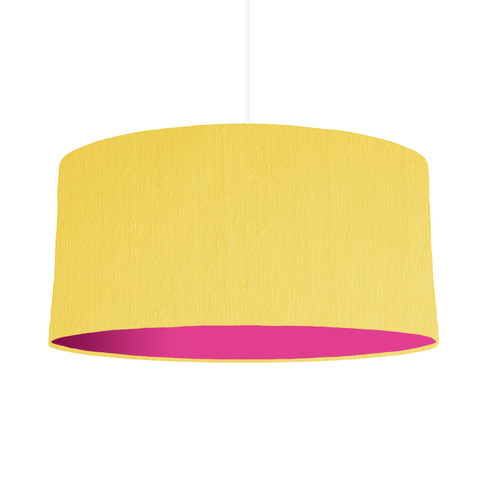 Lemon lamp shade home decorating ideas interior design lemon lampshade with a choice of lining colour 60cm wide yellow lampshades amusing lemon lamp shades aloadofball Image collections