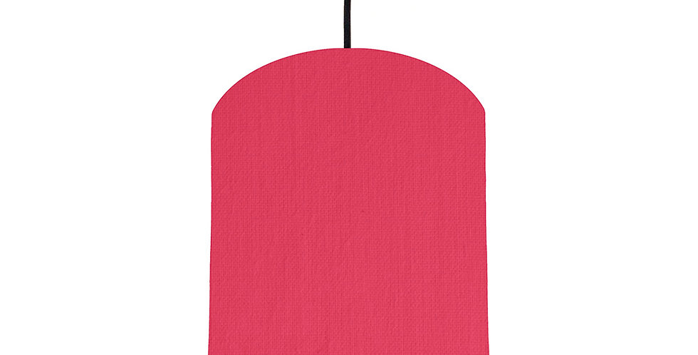 Cerise & Poppy Red Lampshade - 20cm Wide