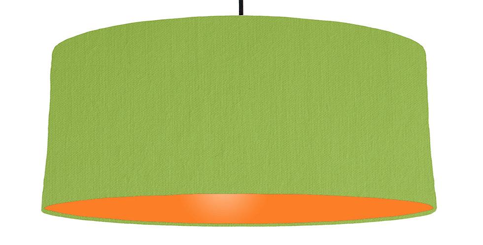Pistachio & Orange Lampshade - 70cm Wide