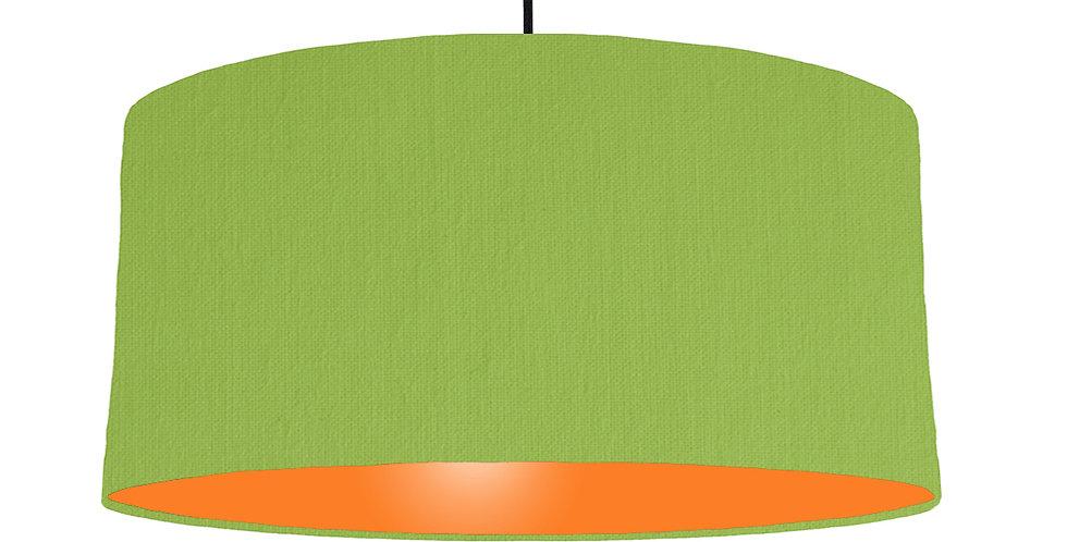 Pistachio & Orange Lampshade - 60cm Wide