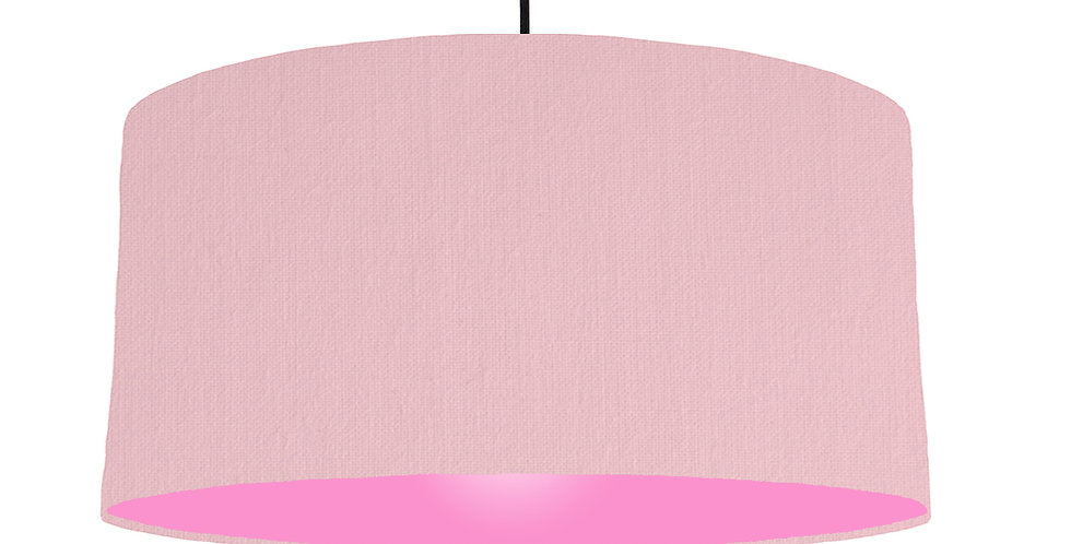 Pink & Pink Lampshade - 60cm Wide