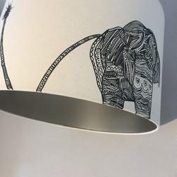 Elephant Lampshade