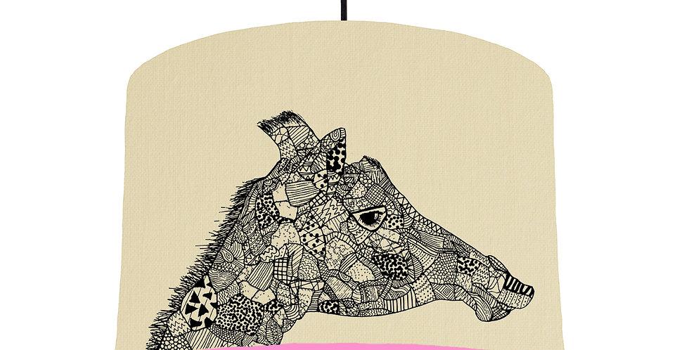 Giraffe - Natural & Pink Lining