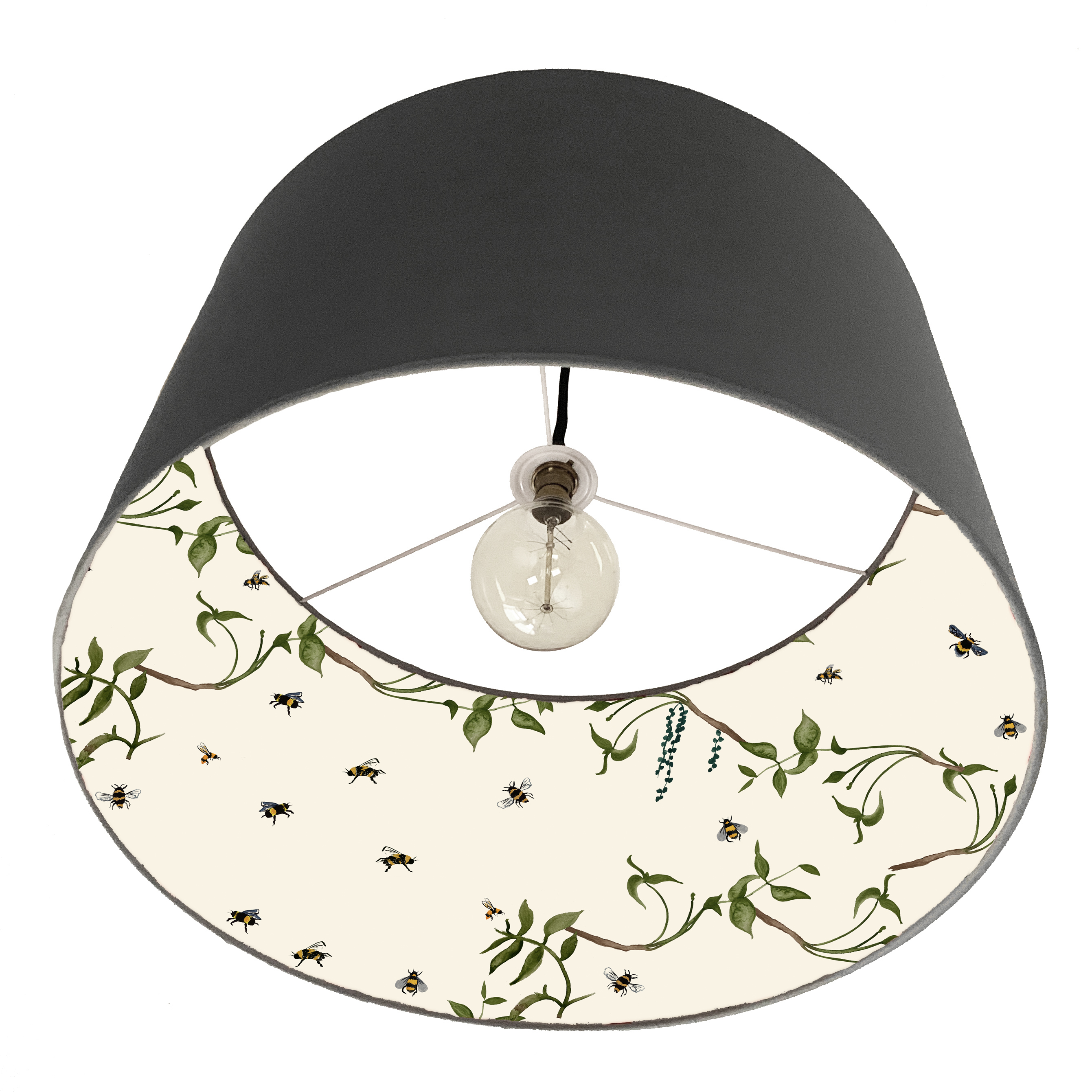 Bee lampshade