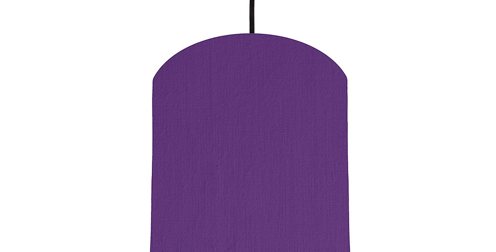 Violet & Butter Yellow Lampshade - 20cm Wide