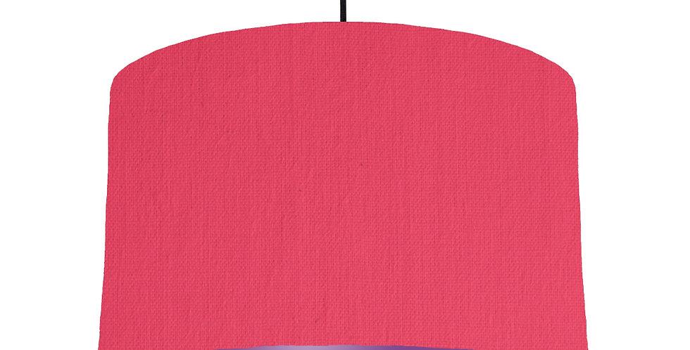 Cerise & Purple Lampshade - 40cm Wide