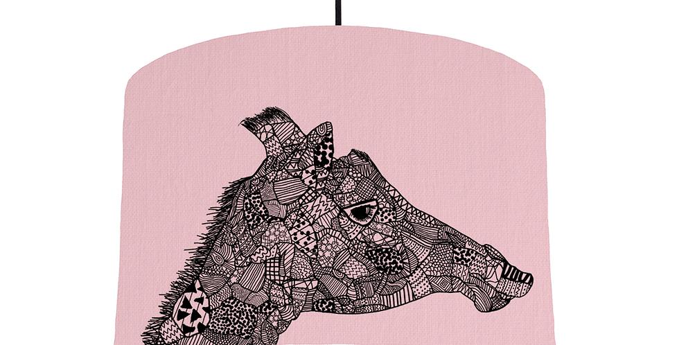Giraffe - Pink Fabric