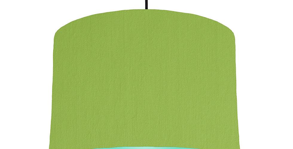 Pistachio & Mint Lampshade - 30cm Wide