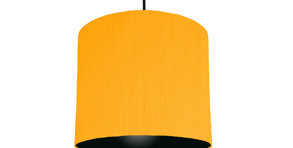 Sunshine & Black Lampshade - 25cm Wide