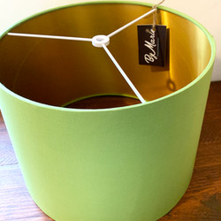 Pistachio green lampshade