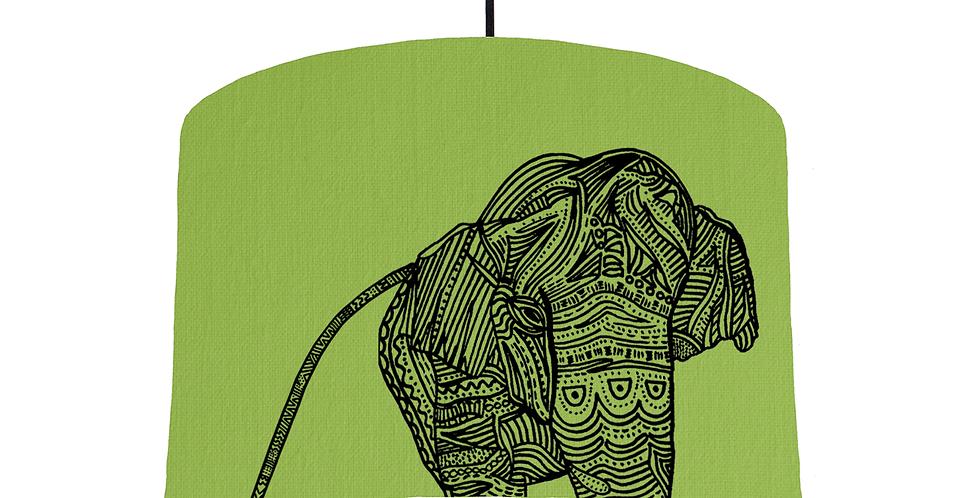 Elephant - Pistachio Fabric