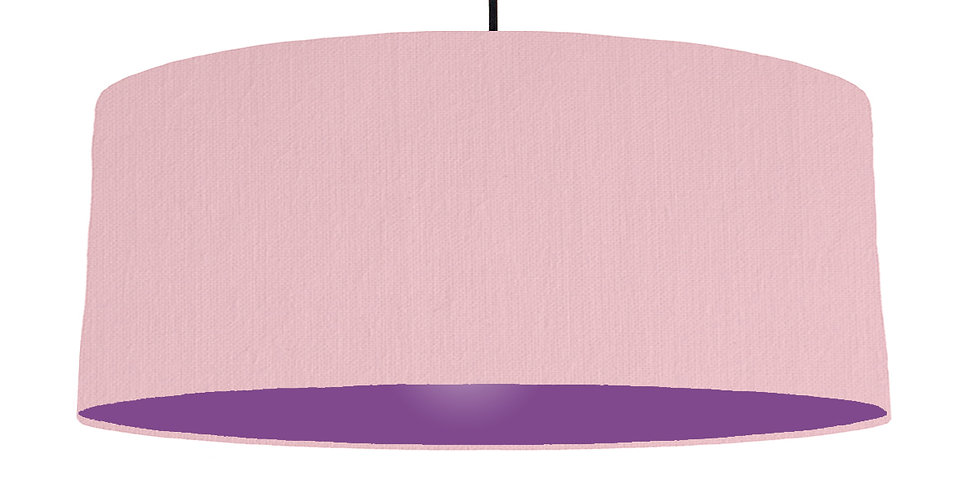 Pink & Purple Lampshade - 70cm Wide