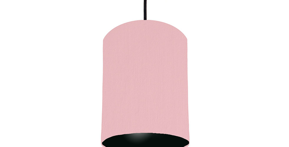 Pink & Black Lampshade - 15cm Wide