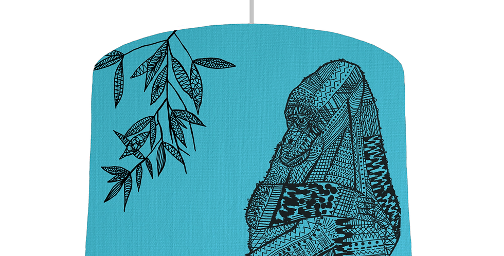 Gorilla Shade - Turquoise Fabric