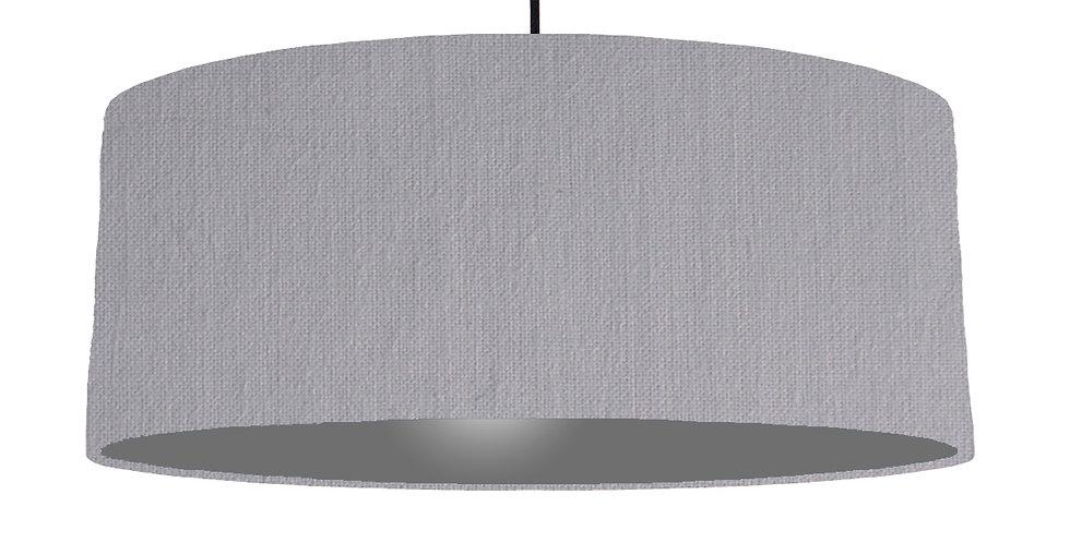 Light Grey & Dark Grey Lampshade - 70cm Wide