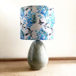 Botanical Bird lampshade
