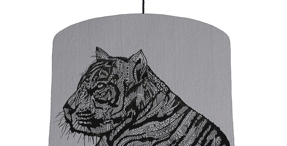Tiger Shade - Light Grey Fabric