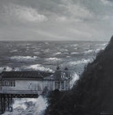 Winter tides Cromer Pier Norfolk 2019.jp