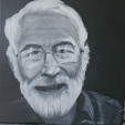 Doctor William Notcutt, anaesthetist at the James Paget Hospital , University lecturer and  pioneering Researcher.  RIP 03/05/21 Wendy Kimberley Art