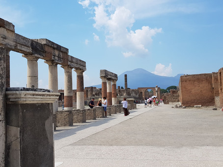 Italy, Art and Archeology: one to check off the bucket list.
