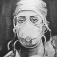 Laura Brenner. A& E Doctor at the James Paget Hospital .  WendyKimberleyArt