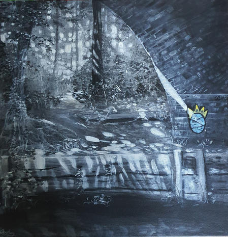 Were the light Falls, Marriots Way , Norfolk (2020)