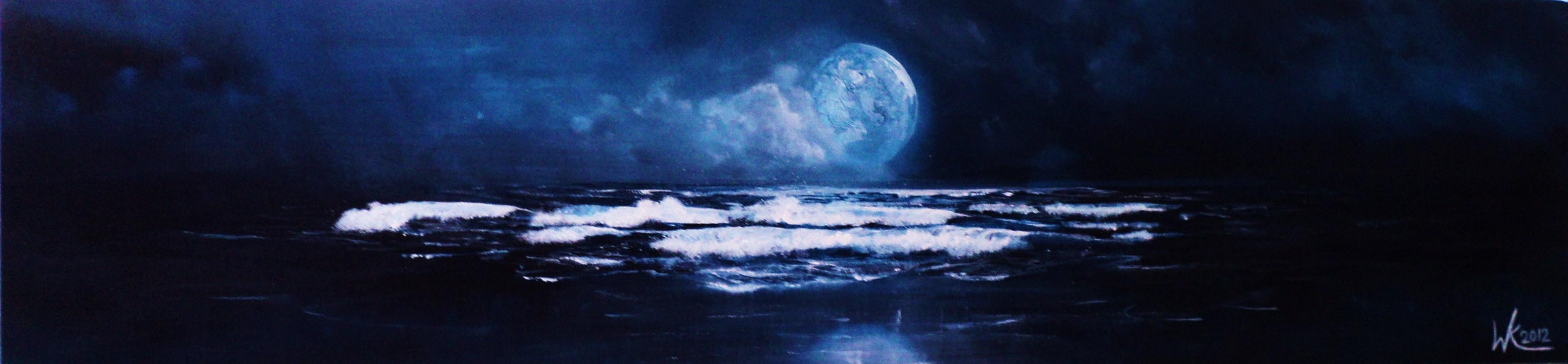Moonlit waves (2012)