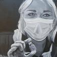 Rachel Brice Sister at the James Paget Hospital  WendykimberleyArt