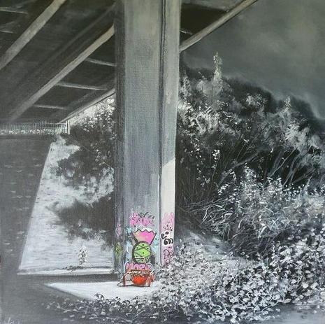 Urban Footprint , A47 Bridge Postwick, Norfolk(2020)