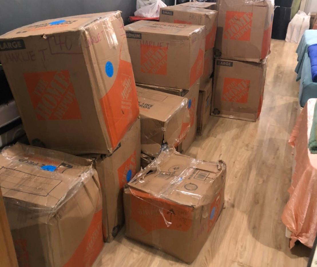 boxes arrive undamaged