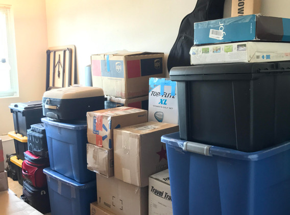A whole house of items, send them to us. We'll deal with any  size projects