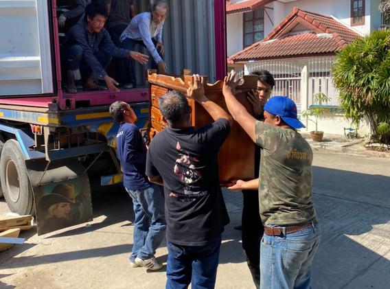 Team work in thailand