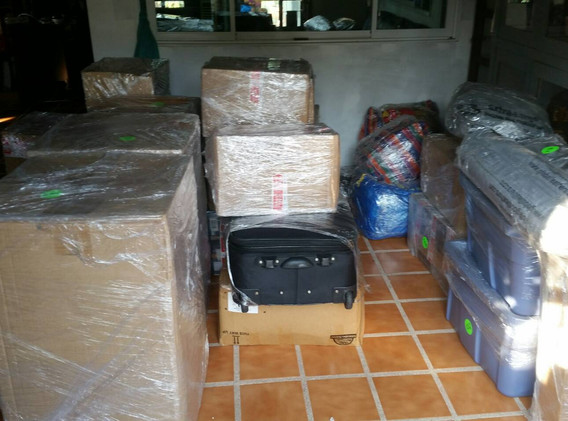 make sure items and boxes are this wrapped especially when going to another province, to ensure no breakage or leaks