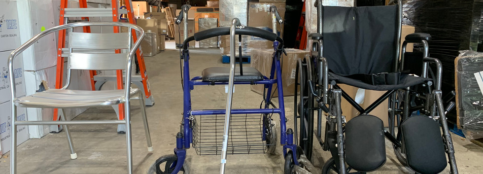 If you don't use any wheelchairs or things that people need, we can come pick it up and put it to use. LANNA acknowledges and gives back to the community for those in need.