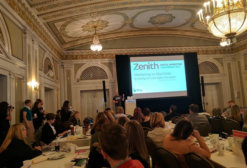 Marty Weintraub at Zenith 2017