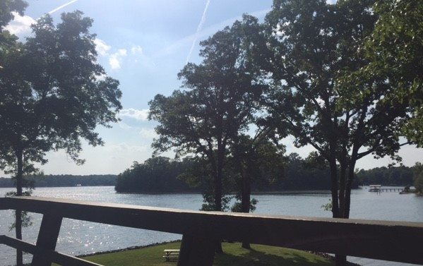 View from the Lake House, Lake Wylie, SC