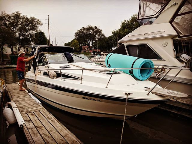"""Duane & Sarah's Boat """"Skipping Stones"""""""