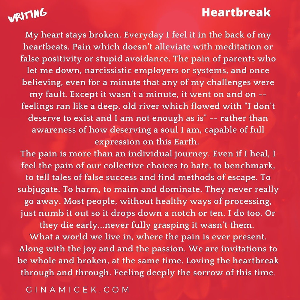 heartbreak, authentic writing, writing, short short stories