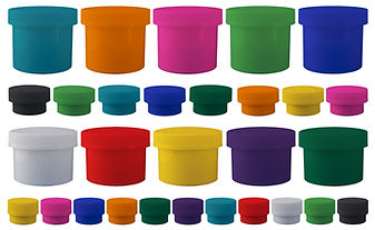 Colored Child Resistant Jars|marijuana Jars|Cannabis Jars|Dispensry Supplies|FLower Continers
