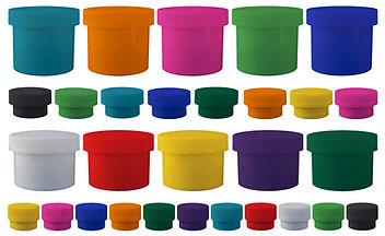 Colored Child Resistant Jars|marijuana Jars|Cannabis Jars|Dispensry Supplies|FLower Continers