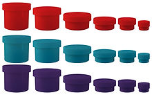 Colored Child Resistant Jars marijuana Jars Cannabis Jars Dispensry Supplies FLower Continers