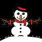 learn-o bonhomme de neige noël