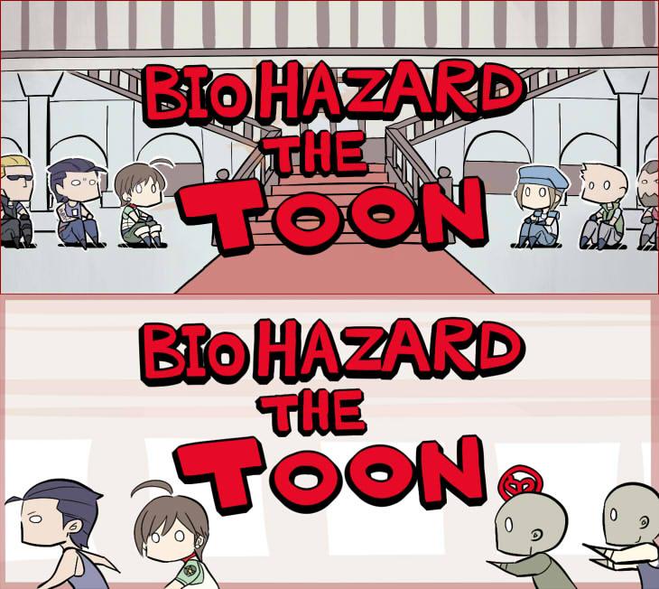 4コマ漫画シリーズ「BIOHAZARD THE TOON」